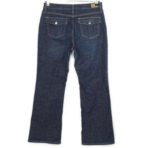 Levis 512 Perfectly Slimming Bootcut Jeans 16 x 31